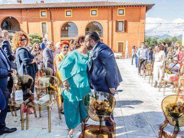 Il matrimonio di Simone e Marina a Bovezzo, Brescia 124