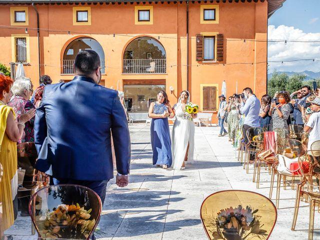 Il matrimonio di Simone e Marina a Bovezzo, Brescia 130