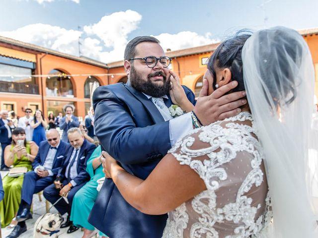 Il matrimonio di Simone e Marina a Bovezzo, Brescia 160