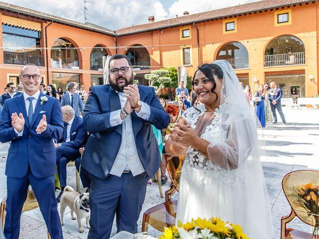 Il matrimonio di Simone e Marina a Bovezzo, Brescia 164