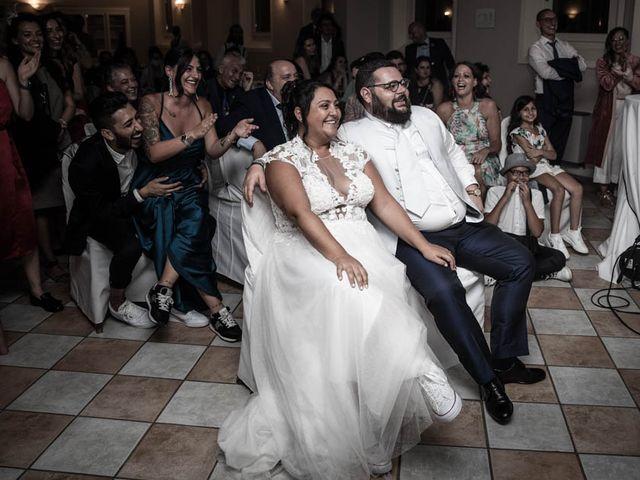 Il matrimonio di Simone e Marina a Bovezzo, Brescia 293