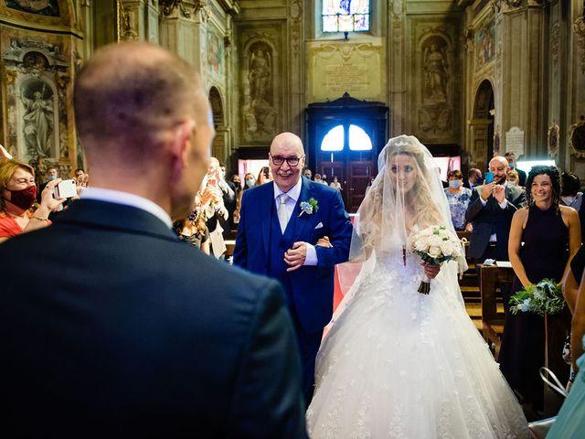 Il matrimonio di Giacomo  e Alessandra  a Gaggiano, Milano 42