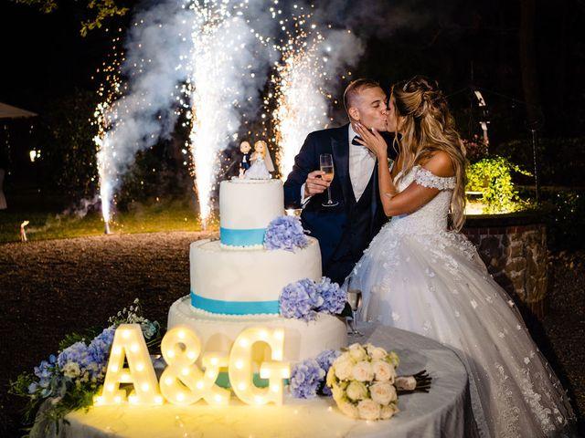Il matrimonio di Giacomo  e Alessandra  a Gaggiano, Milano 80