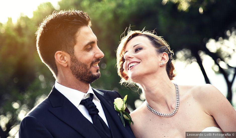 Il matrimonio di Andrea e Elisa a Lanuvio, Roma