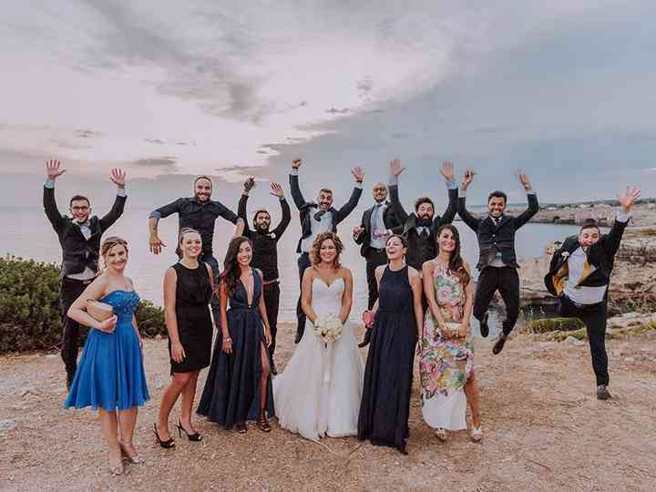 Le nozze di Stefania e Sebastiano