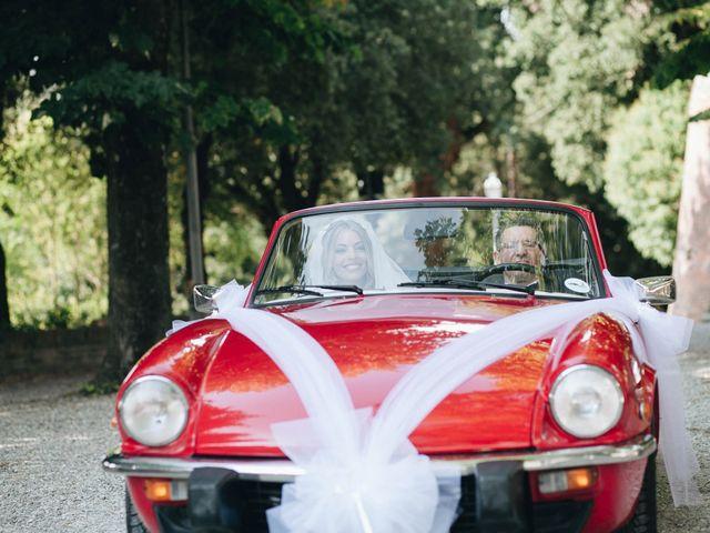 Il matrimonio di Matteo e Valentina a San Miniato, Pisa 25