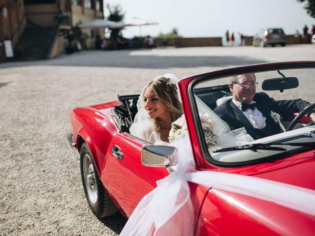 Il matrimonio di Matteo e Valentina a San Miniato, Pisa 26