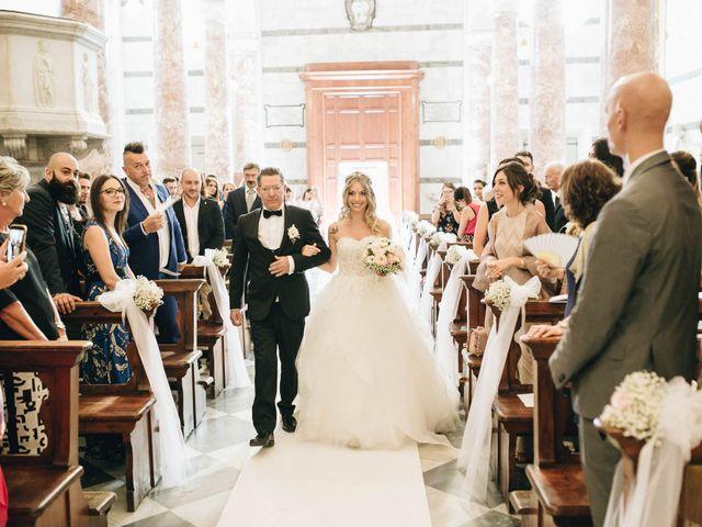 Il matrimonio di Matteo e Valentina a San Miniato, Pisa 27
