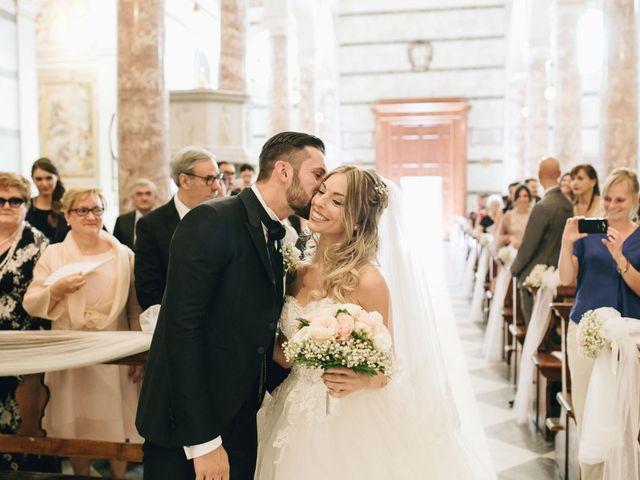 Il matrimonio di Matteo e Valentina a San Miniato, Pisa 28