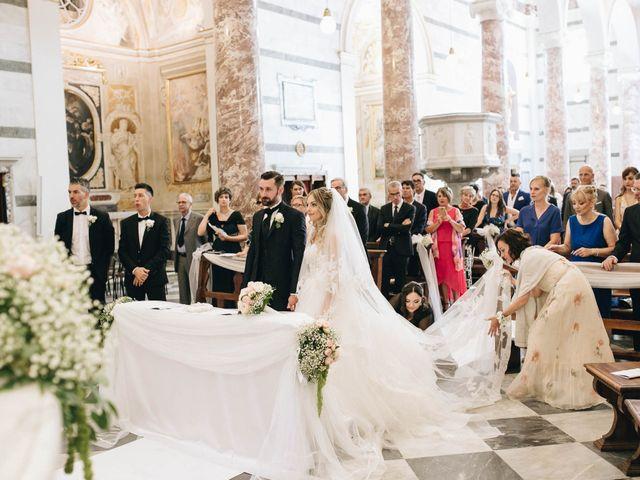 Il matrimonio di Matteo e Valentina a San Miniato, Pisa 29