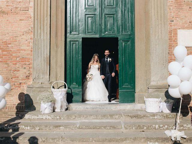 Il matrimonio di Matteo e Valentina a San Miniato, Pisa 38