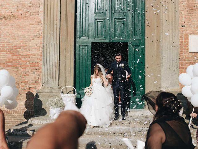Il matrimonio di Matteo e Valentina a San Miniato, Pisa 39