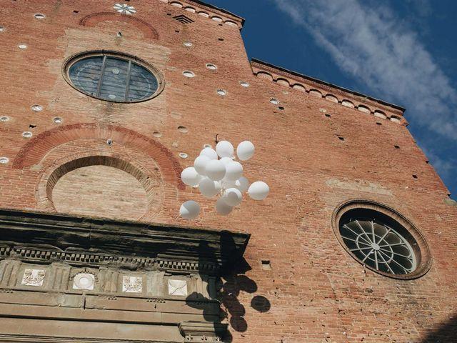 Il matrimonio di Matteo e Valentina a San Miniato, Pisa 40