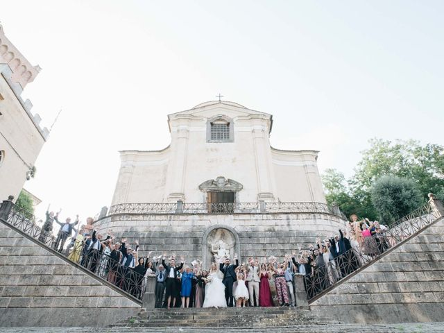 Il matrimonio di Matteo e Valentina a San Miniato, Pisa 41