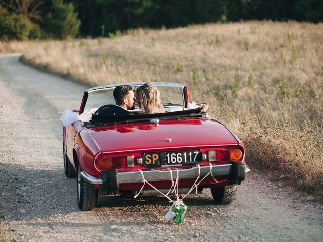 Il matrimonio di Matteo e Valentina a San Miniato, Pisa 50