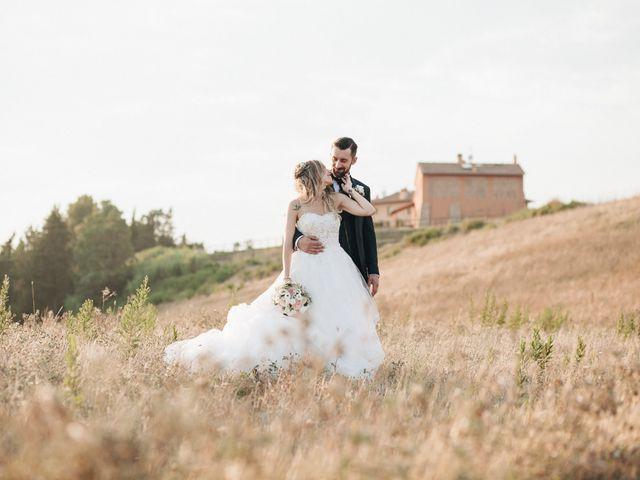 Il matrimonio di Matteo e Valentina a San Miniato, Pisa 53