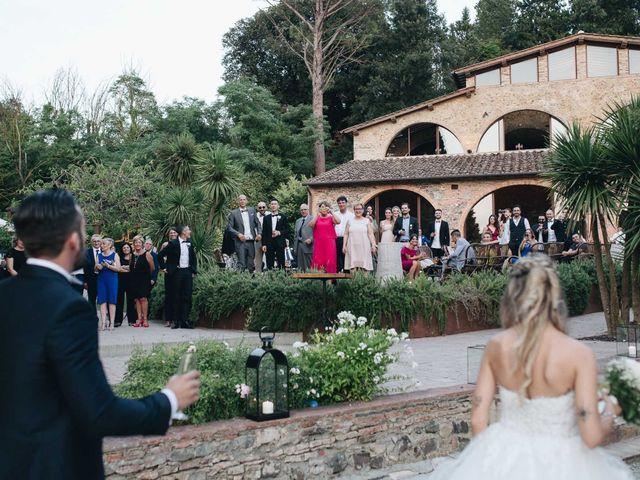 Il matrimonio di Matteo e Valentina a San Miniato, Pisa 59
