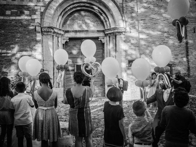 Il matrimonio di Valentina e Alessandro a San Severino Marche, Macerata 86