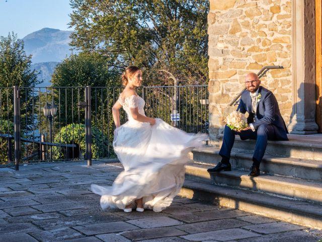 Il matrimonio di Giovanni e Flavia a Zandobbio, Bergamo 24