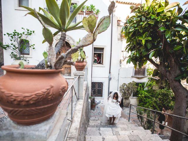 Il matrimonio di Vincenzo e Amanda a Taormina, Messina 23
