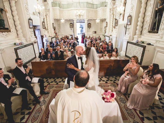 Il matrimonio di Vincenzo e Amanda a Taormina, Messina 28