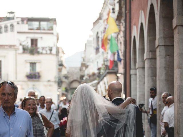 Il matrimonio di Vincenzo e Amanda a Taormina, Messina 42