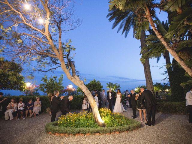 Il matrimonio di Vincenzo e Amanda a Taormina, Messina 49