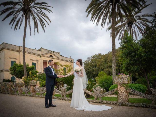 Il matrimonio di Mimina e Rosario a Taurisano, Lecce 17