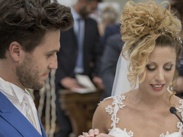 Il matrimonio di Valentina e Alessandro a San Severino Marche, Macerata 75