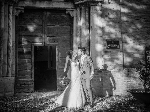 Il matrimonio di Valentina e Alessandro a San Severino Marche, Macerata 93
