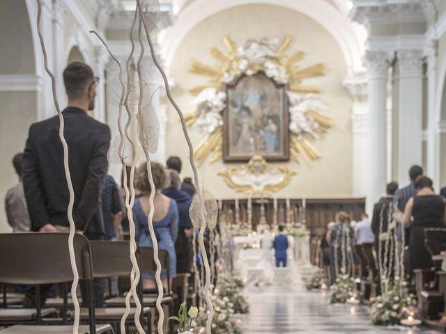 Il matrimonio di Valentina e Alessandro a San Severino Marche, Macerata 56