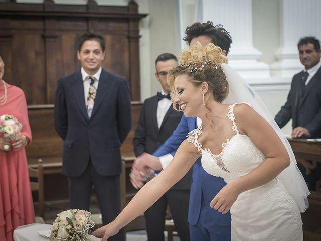 Il matrimonio di Valentina e Alessandro a San Severino Marche, Macerata 63