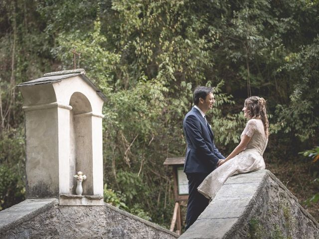 Il matrimonio di Luca e Marusca a Locate Varesino, Como 11