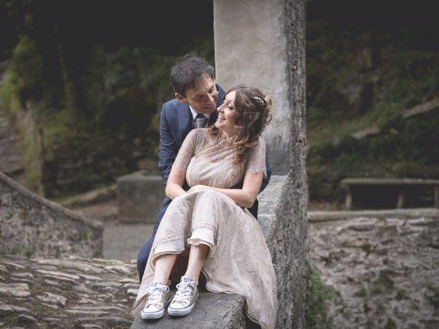 Il matrimonio di Luca e Marusca a Locate Varesino, Como 37