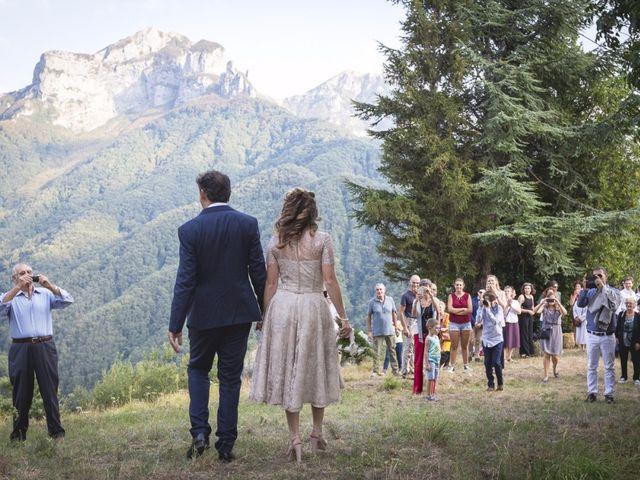 Il matrimonio di Luca e Marusca a Locate Varesino, Como 73