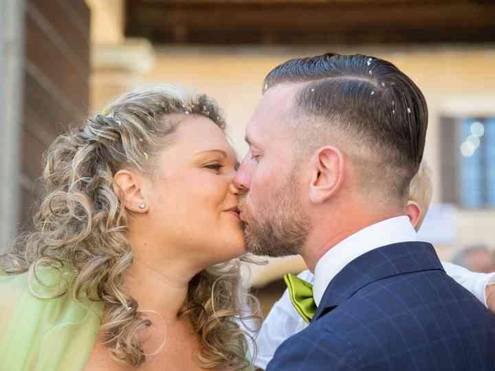 Le nozze di Erika e Jordan