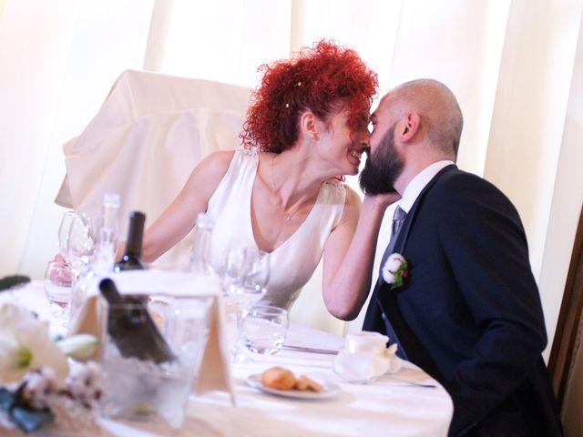 le nozze di Sharon e Francesco