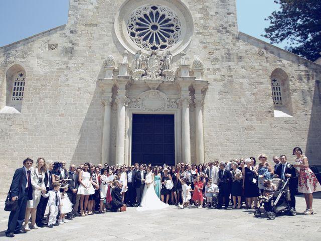 Il matrimonio di Fabrizio e Lara a Otranto, Lecce 45