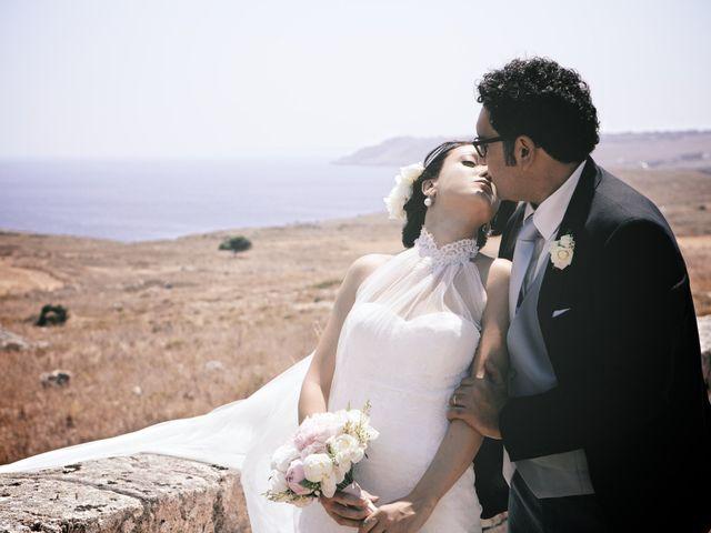 le nozze di Lara e Fabrizio