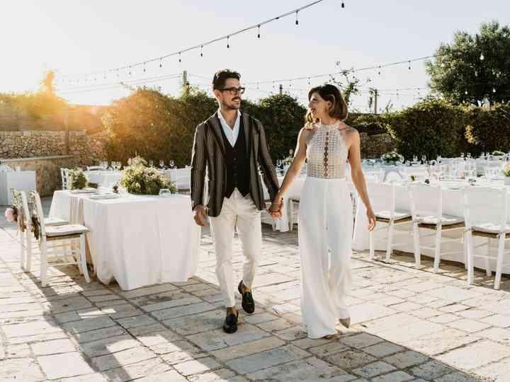 Le nozze di Massimo e Antonella