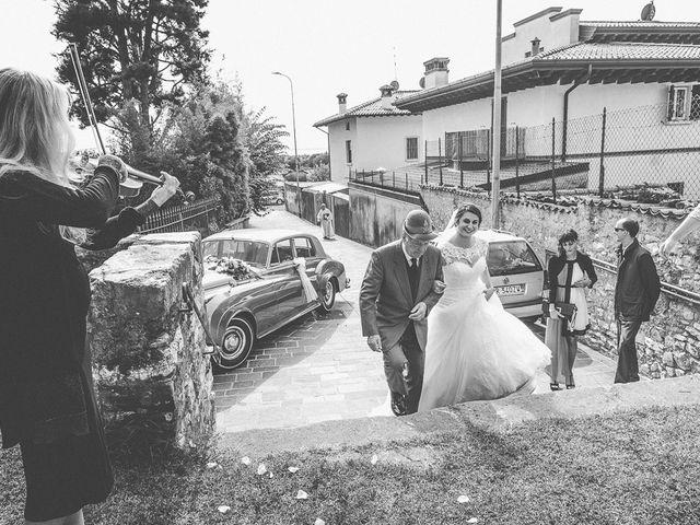 Il matrimonio di Emanuele e Elena a Borgosatollo, Brescia 104