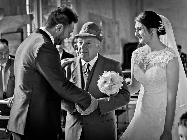 Il matrimonio di Emanuele e Elena a Borgosatollo, Brescia 126