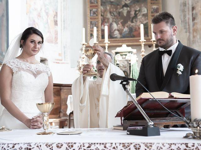 Il matrimonio di Emanuele e Elena a Borgosatollo, Brescia 120