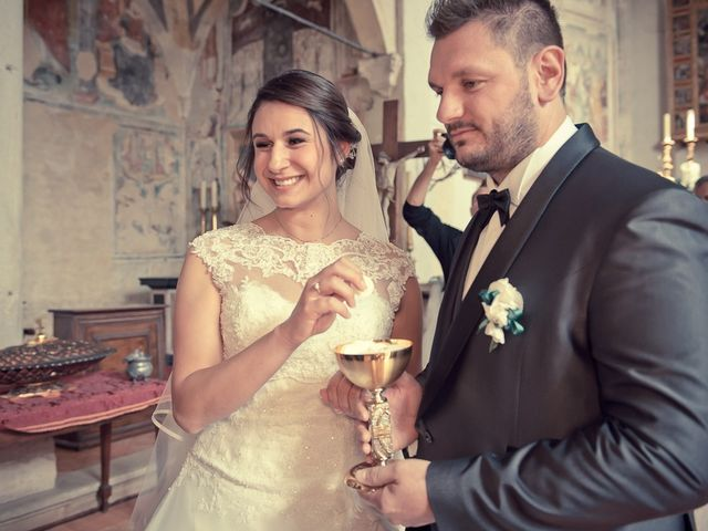 Il matrimonio di Emanuele e Elena a Borgosatollo, Brescia 121