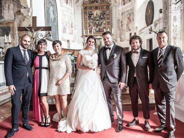 Il matrimonio di Emanuele e Elena a Borgosatollo, Brescia 134