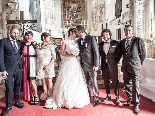 Il matrimonio di Emanuele e Elena a Borgosatollo, Brescia 135