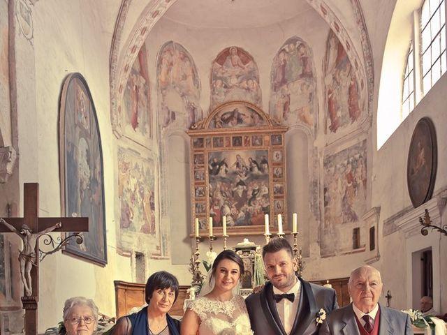 Il matrimonio di Emanuele e Elena a Borgosatollo, Brescia 136