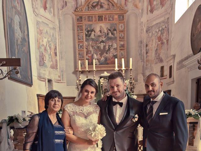 Il matrimonio di Emanuele e Elena a Borgosatollo, Brescia 137