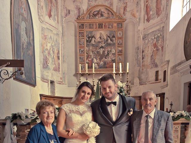 Il matrimonio di Emanuele e Elena a Borgosatollo, Brescia 139