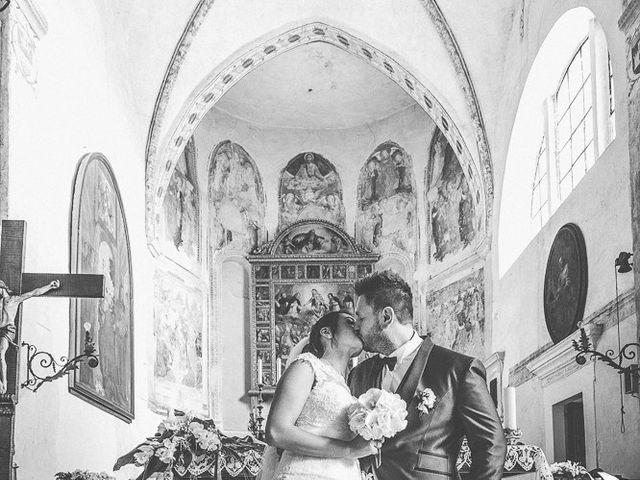 Il matrimonio di Emanuele e Elena a Borgosatollo, Brescia 125